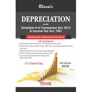Bharat's Depreciation under Schedule II of Companies Act, 2013 & Income Tax Act, 1961 by CA. Kamal Garg